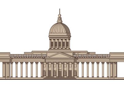 Sights of St. Petersburg