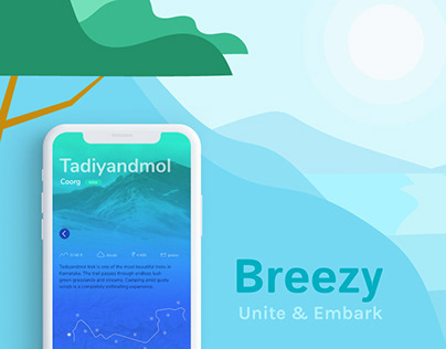 Breezy | An App for Trek-enthusiasts
