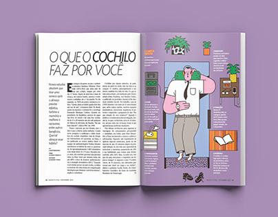 """Revista Saúde - """"O que o cochilo faz por você"""""""