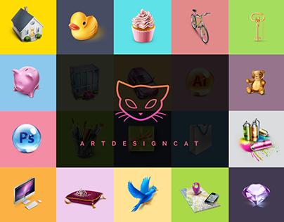 ArtDesignCat - Freebies Project