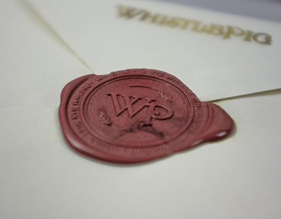 WhistlePig Whiskey | Stationery Redesign