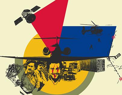 PABLO ESCOBAR - Illustration