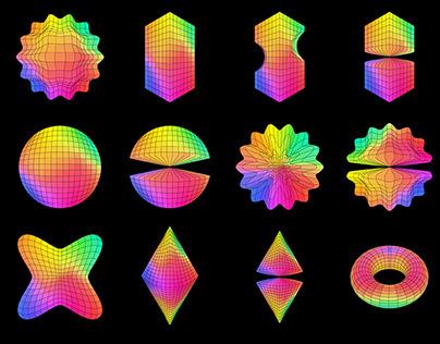 Colorpong.com - Geometric - vector bundle