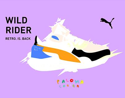 Puma x Paloma Correa / WILD RIDER/
