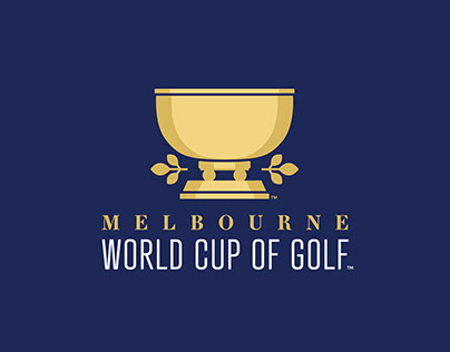 2018 World Cup of Golf Logo Design