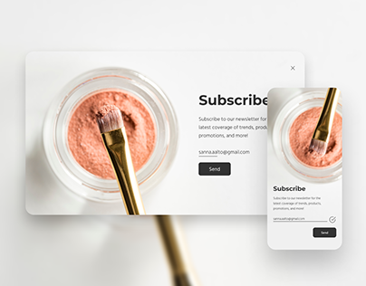 Daily UI Challenge #026 - Subscribe