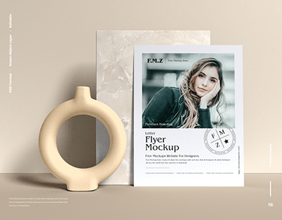 Free Branding Flyer Mockup