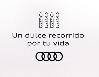 Audi - Un dulce recorrido por tu vida