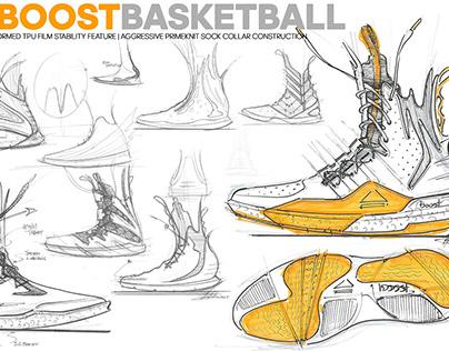 adidas x James Harden basketball concept sketches