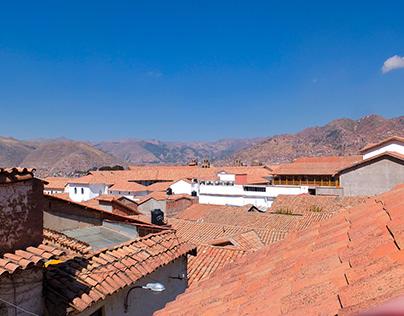 Rooftops Views in Cusco