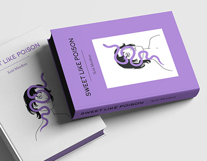 Sweet like poison - book design