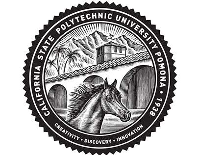 Cal Poly Pomona Seal Illustrated by Steven Noble