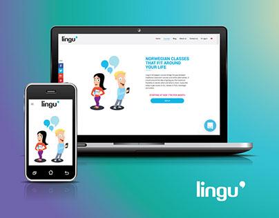 Lingu booking lesson system - UI UX design