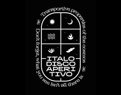 Italo Disco Aperitivo T-Shirt