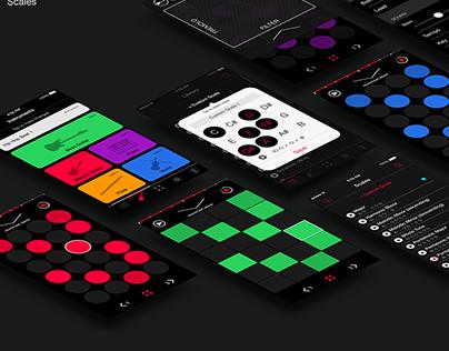 Scales: Music App Design