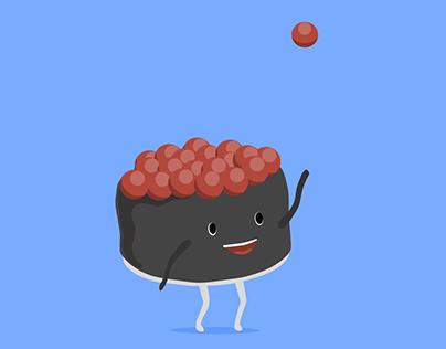 Animated Gif - Sushi