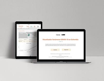 Visualizador COVID-19 - Data Vis & Web UX/UI