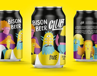 Bison Beer - Artwork