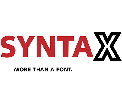 SYNTAX Typography Research
