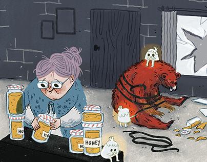 100 Grados fanzine / The honey thief
