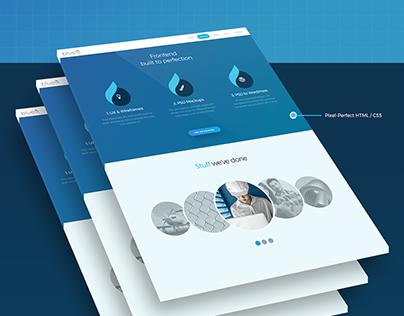 Bluelit Branding + UX/UI Web Design & Development