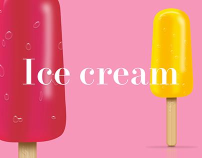 Ice cream - Concept design