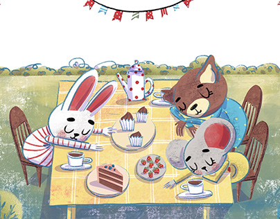 Picture book Adventures of animals