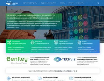 Корпоративный сайт для ИРИСОФТ-ИНВЕСТ