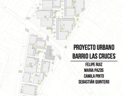 Proyecto Urbano - Barrio Las Cruces (Proyecto Lugar)