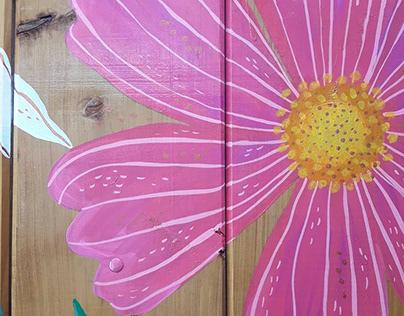 Mural Flores (exterior)