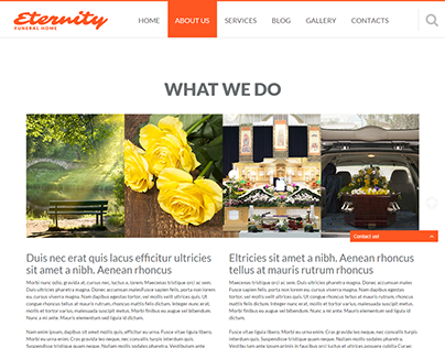 Burial and Funeral Services Joomla Template