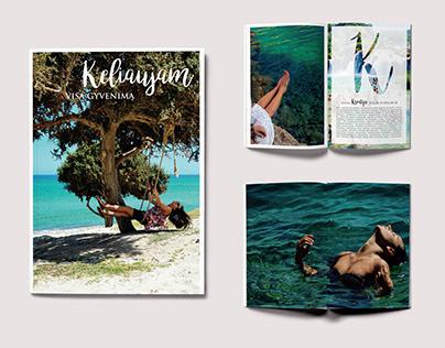 Magazine design | Travelling