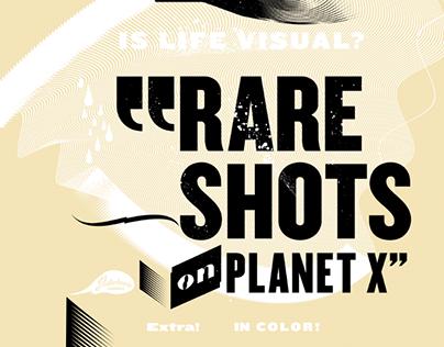 Rare Shots on Planet X - The Disturbanity Book