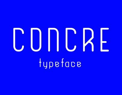 Concre - Free Typeface