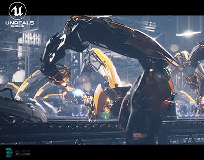 Robot Animation UE5