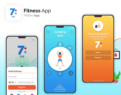 Exercise/Fitness App IOS/Android