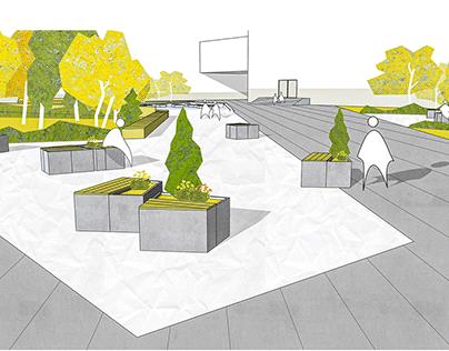 University Campus Landscape