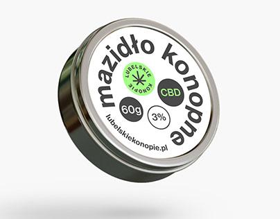 Branding and packaging design for Lubelskiekonopie.pl