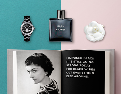 """""""Coco Chanel: The Legend and The Life"""" Book Redesign"""