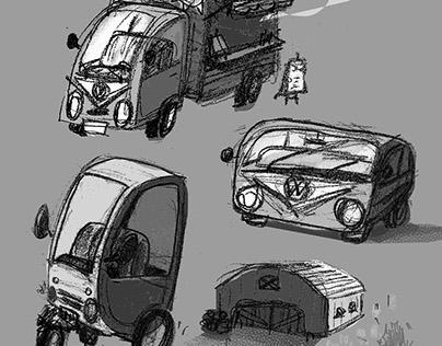 Kombi sketch