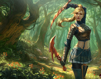 Metin 2 - Assassin Splash Art