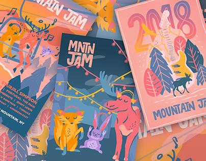 Mountain Jam 2018 Re-Brand
