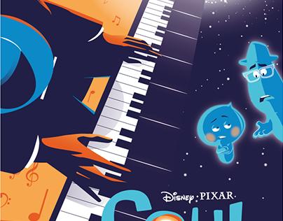 Pixar SOUL Poster Art