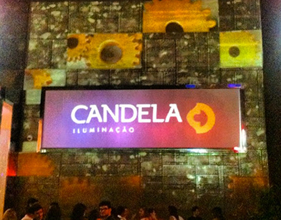 Candela - Video Mapping bluer.tv