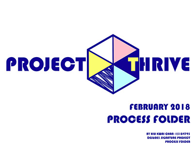 PROJECT THRIVE (FINAL PROJECT 2018)