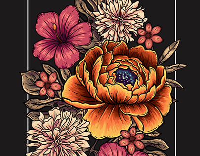 Bloom in Frame