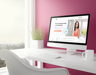 Website design for the company engaged in Windows