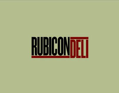 Rubicon Deli Branding