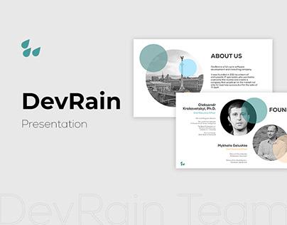 DevRain - Presentation
