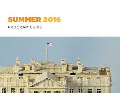 Morris Museum Program Guide - Summer 2016
